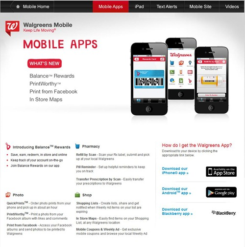 Download Walgreens mobile app
