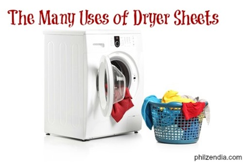 The many ways to Use Dryer Sheets