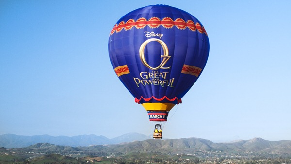Disney Journey to Oz Balloon Tour
