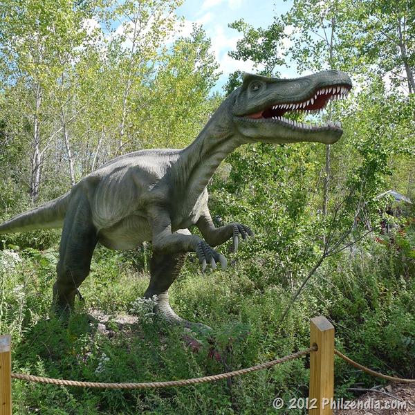 This is a Baryonyx Dinosaur