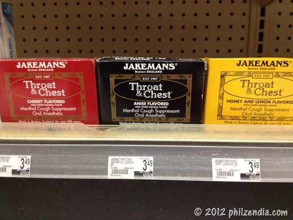 Jakemans Throat & Chest lozenges