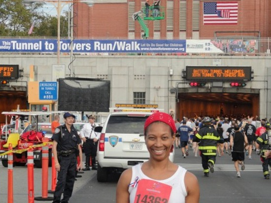 The Tunnel to Towers run starts outside of the Brooklyn Batery Tunnel on the Brooklyn side.