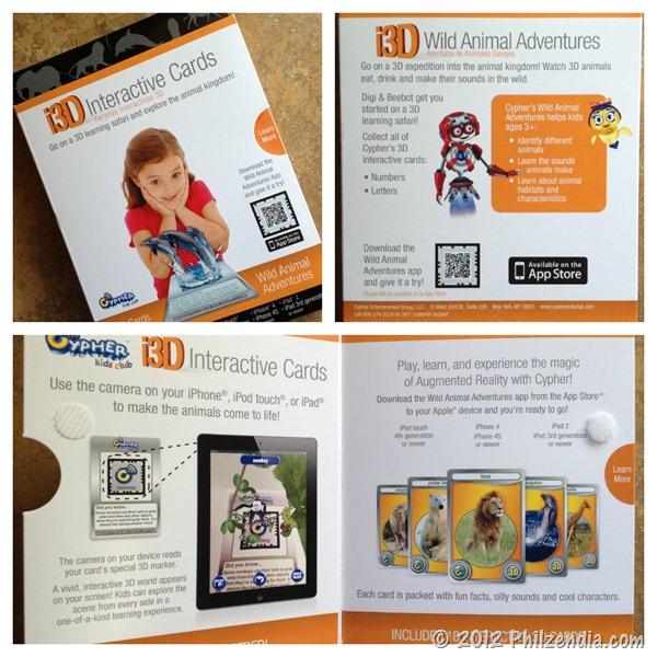 i3D Wild Animal Adventures packaging