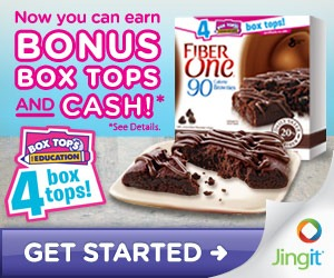 Earn Box tops and cash with Jingit