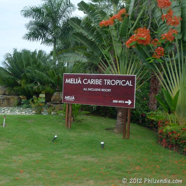 Arriving at Melia Caribe Tropical Resort Punta Cana
