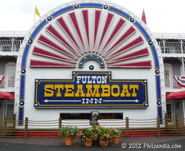 The fulton Steamboat Inn in Lancaster County PA