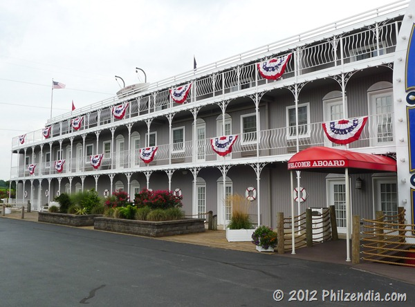 Another view of the fulton Steamboat Inn in Lancaster County PA
