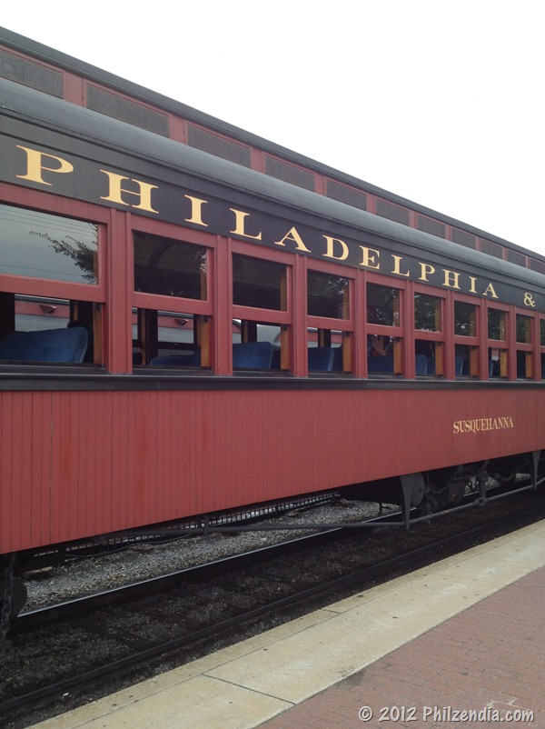 This is the train we rode at Strasburg Railroad - Lancaster