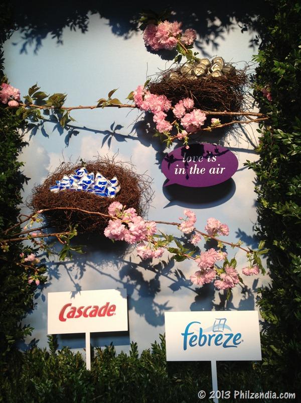 Cascade and Febreeze display