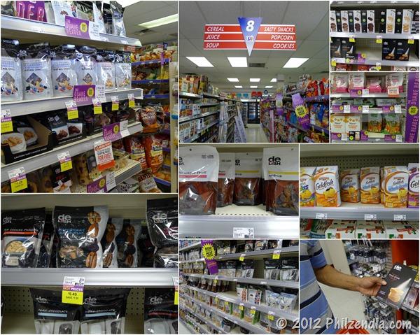 Huge selection of snacks at Duane Reade