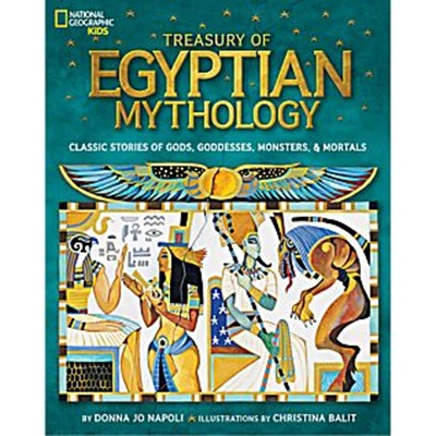 Treasury of Egyptian Mythology book cover